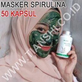 Masker Spirulina 50 Kapsul Tiens   Wajah Cerah, Kencang & Putih Alami