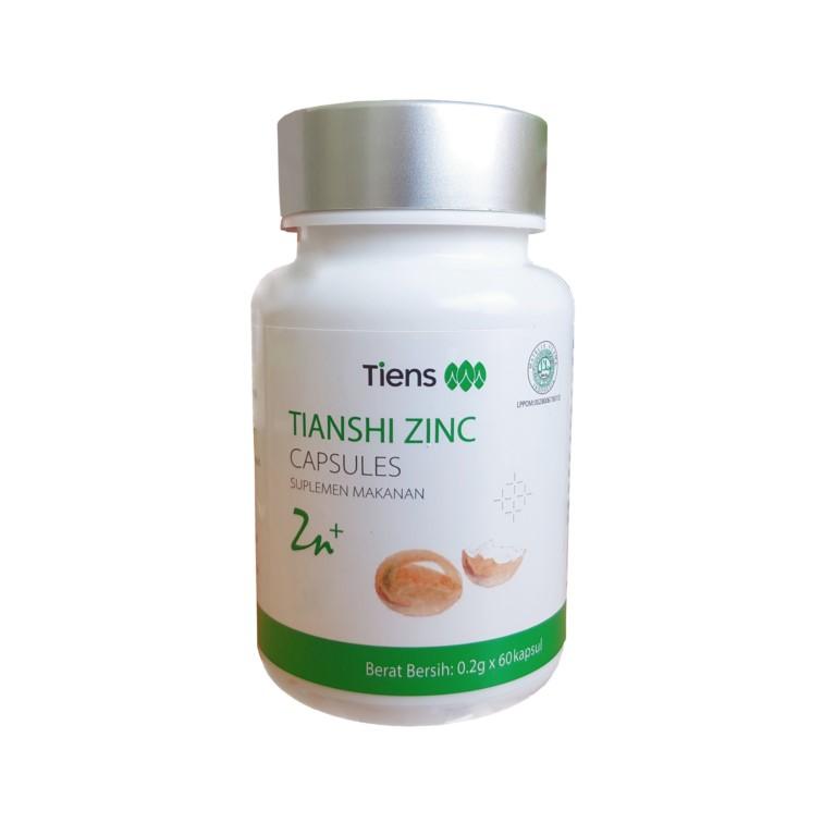 Zinc Tiens Tianshi | Vitamin Hormon & Pertumbuhan | Daya Tahan Tubuh